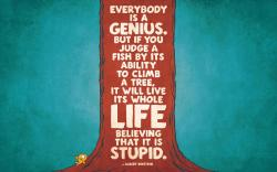 Genius albert einstein quote