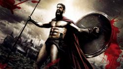 2560x1440 Wallpaper 300, spartan, warrior, rage, strong, gerard butler, king