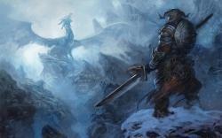 Download The Elder Scrolls Giant Enemy Game Wallpaper High Definition (HD) Games Wallpaper