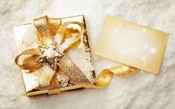 Gift Box Snow Christmas