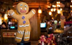 Gingerbread Man Biscuit Cookie Christmas