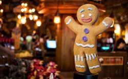 Download Gingerbread Man wallpaper