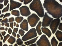Animal print fur effect curtain fabric upholstery material - 150cm wide