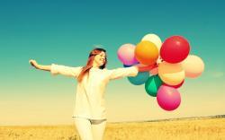 Mood Girl Balloons