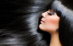 Portrait Brunette Girl Beautiful Hair HD Wallpaper