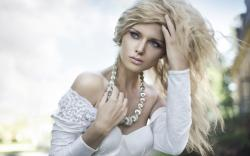 Girl Blonde Luxury Fashion