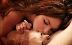 View And Download Girl with Dogs Wallpapers ...