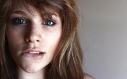 Girl Eyes Lips Portrait