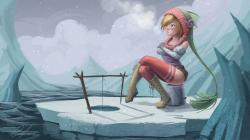 Description: The Wallpaper above is Girl ice fishing Wallpaper in Resolution 1600x900. Choose your Resolution and Download Girl ice fishing Wallpaper