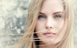 Girl Face Blonde Hair Bokeh HD Wallpaper