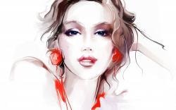 Girl Portrait Art