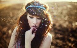 Beautiful Girl Portrait Mood