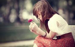 Mood · heart,little,flower,love,mood,nature,purple,flowers,