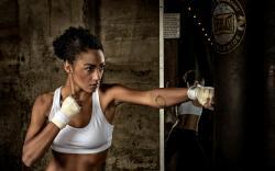 Girl Training Sport