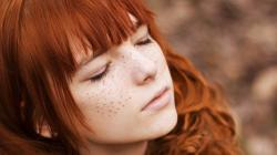 Beautiful Girls With Freckles