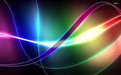 ... Colorful glowing curves wallpaper 1920x1200 ...