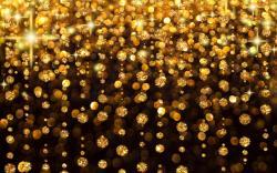 Gold glitter desktop wallpaper. Gold glitter de.