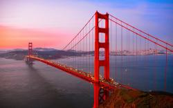 ... Golden Gate Bridge Red Wallpaper,Images,Pictures,Photos ...