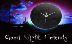 Good Night Clock Widescreen Wallpapers