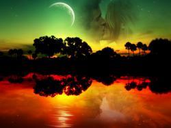 Good Night Facebook Wallpaper