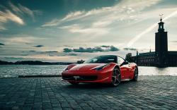 Gorgeous Ferrari 458 Wallpaper
