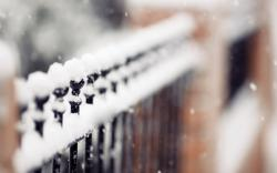 Snow Fence Wallpaper HD
