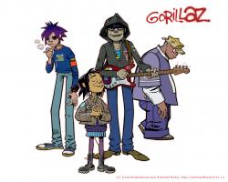 Best of the Gorillaz by Druidhaven