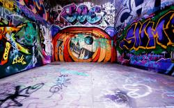 Graffiti Wallpaper For Bedrooms Design Art 34278 Background