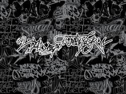 Black And White Graffiti Wallpapers (23)
