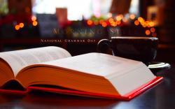 Grammar Book Cup Lights