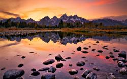 ... Grand Teton Sunset for 1680x1050