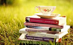 Grass Books Cup Nature