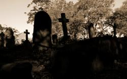 Graveyard Wallpaper