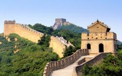 China Great Wall (6). great wall of china map