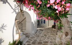 Greece village streets