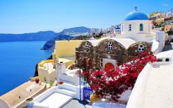 ... Santorini, Greece wallpaper 1920x1200 ...
