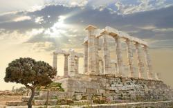 Fabulous Ancient Greek Ruins wallpaper