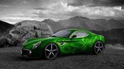 Green Car Background 32624 1920x1080 px