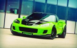 Beautiful Green Car