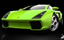 Lamborghini Green Concept