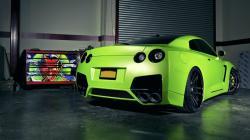 Green GTR Wallpaper