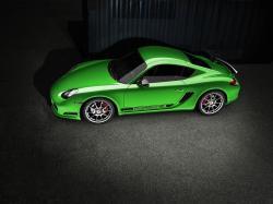 Green 2011 Porsche Cayman R
