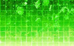 green wallpapers Green Drops