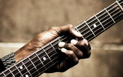 Guitar Hand Music HD Wallpaper