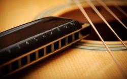 Guitar Strings Acoustic Harmonica Music