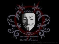 Guy Fawkes Mask by p2pnadie2pp