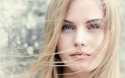 Girl Face Blonde Hair Bokeh HD Wallpaper