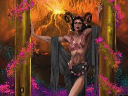 Hathor the horned Goddess by Rjrazar1 ...