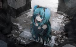 Hatsune miku sad Wallpapers Pictures Photos Images · «