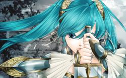 Hatsune miku sword Wallpapers Pictures Photos Images · «